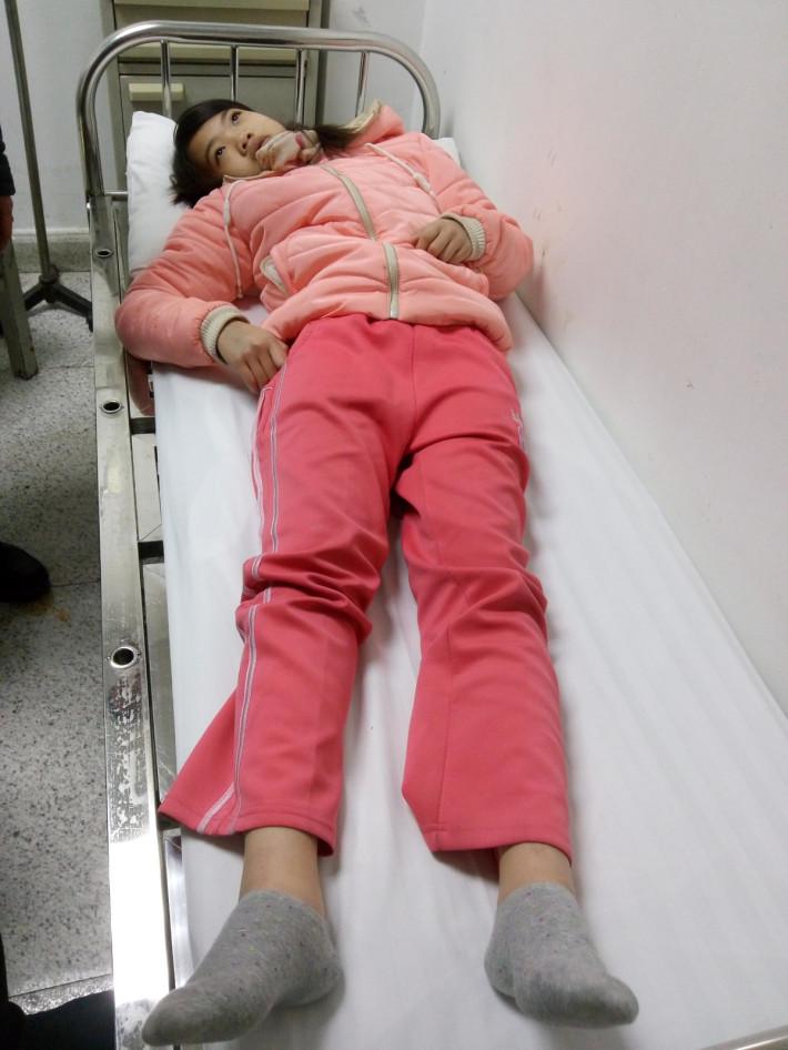 干12岁侄女儿_帮帮我13岁小侄女姚雅丹,让她早日战胜病魔,重返校园